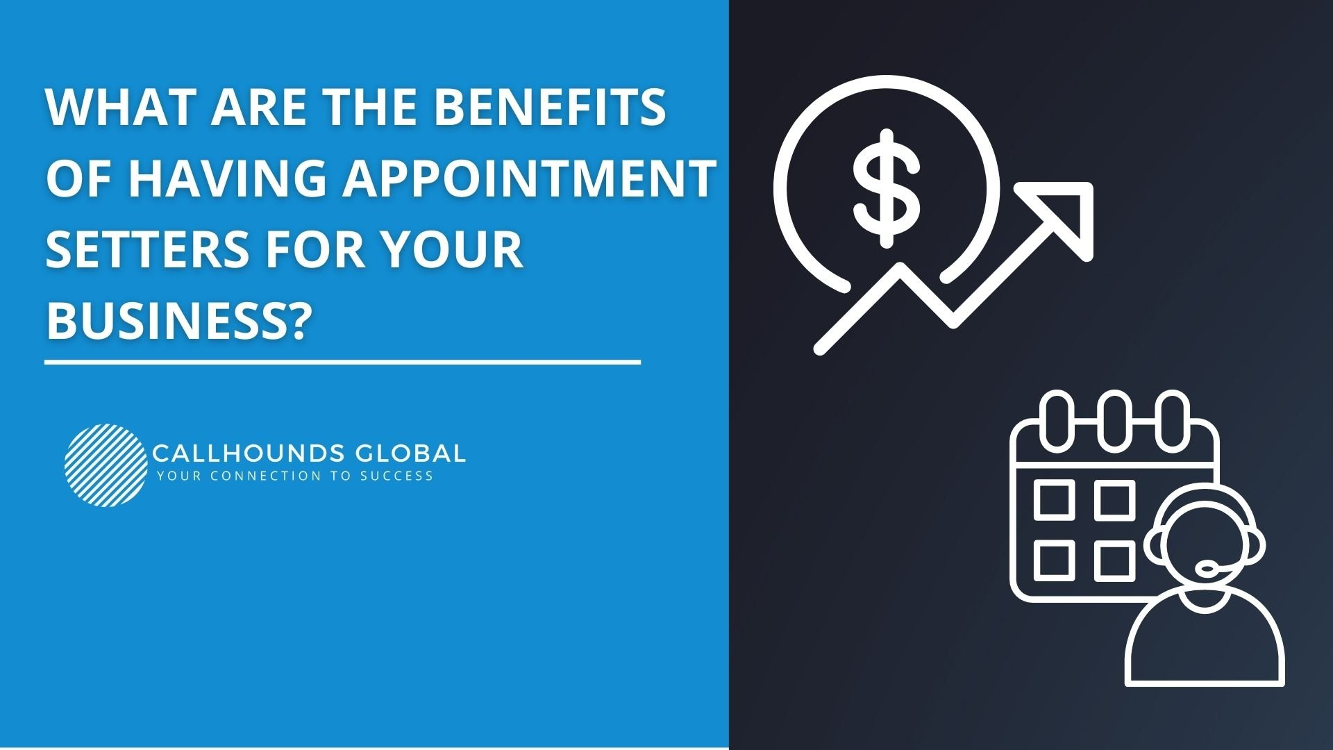 Business benefits of appointment setters
